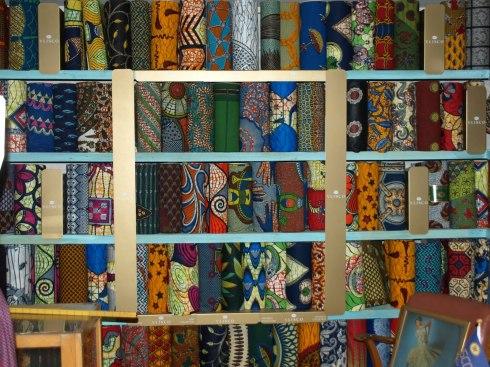 Ditch wax fabrics