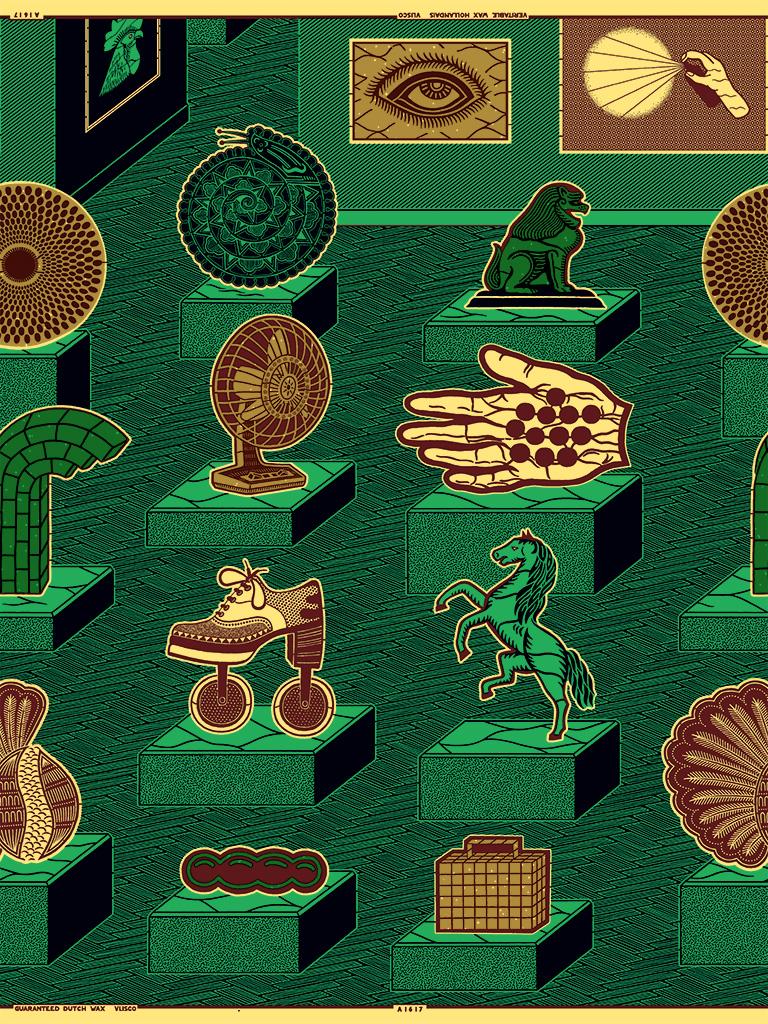 Dutch wax fabrics & African graphics in fashion |