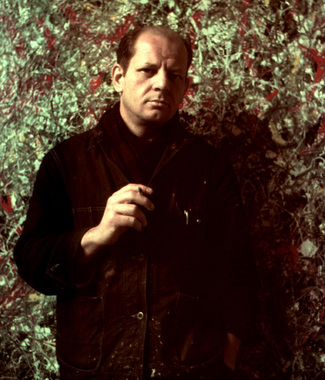 Painter Jackson Pollock