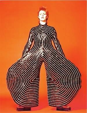Ziggy Stardust Costume The creation of the Zi...