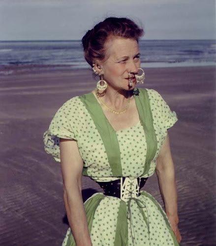 Mr. Pearl, Ethel Granger and Stella Tennant, what a waist…..