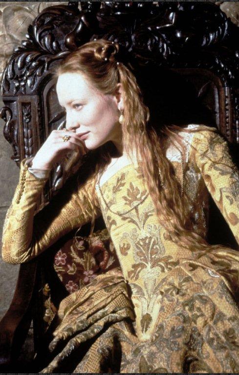 Cate Blanchett as Elizabeth I   Young Queen Elizabeth 1 Dress