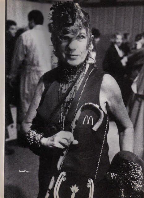 Anna Piaggi in 1987