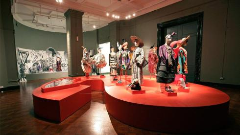 The Red A with 13 favorite outfits ,Fahion-ology exhibition