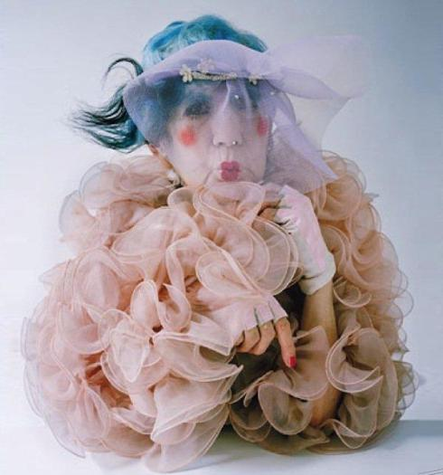 Anna Piaggi by Tim walker