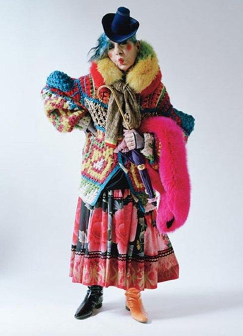 Anna Piaggi by Tim Walker 4