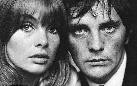 Famous portrait of the Sixties: Jean Shrimpton&Terrence Stamp