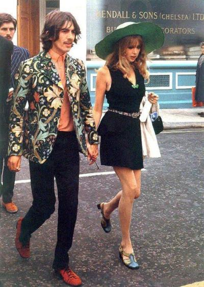 George Harrison in a Granny Takes a Trip jacket