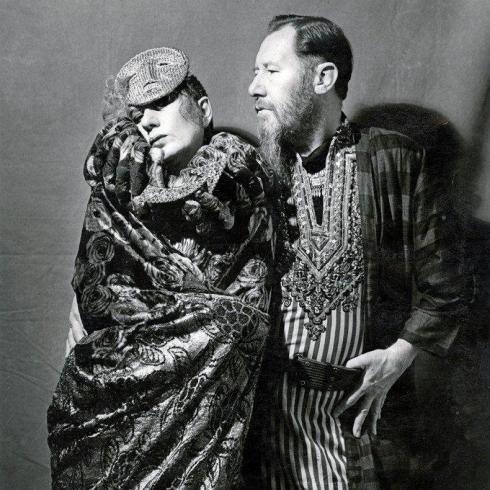 Anna Piaggi & Vern Lambert