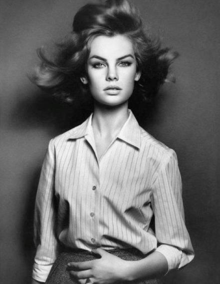 Jean Shrimpton 1961,by David Bailey