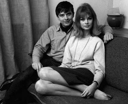 Jean Shrimpton & David Bailey