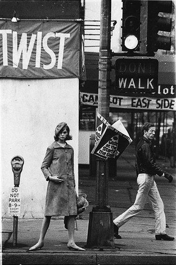 Jean Shrimpton in NY by David Bailey 1