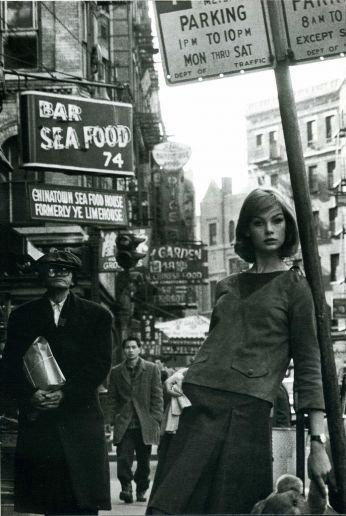 Jean Shrimpton in NY by David Bailey 4
