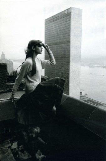 Jean Shrimpton in NY by David Bailey 8