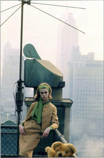 Jean Shrimpton in NY by David Bailey 9