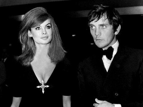 Jean Shrimpton & Terrence Stamp