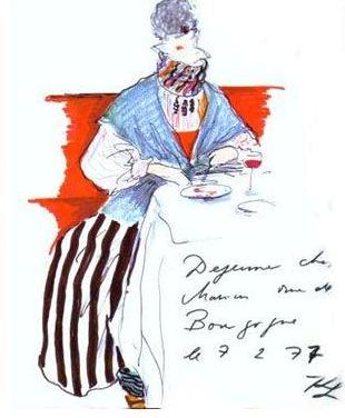 Karl Lagerfeld sketch 5