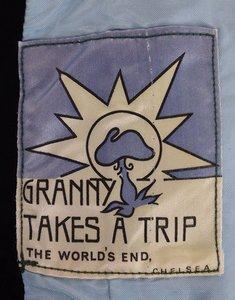 Granny Takes a trip label