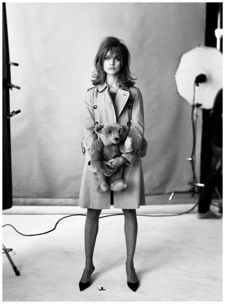 Thaddeus Moss >> Jean Shrimpton made a major contribution to fashion