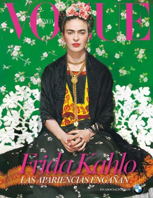 Cover Vogue mexico during opening month exhibition 2012