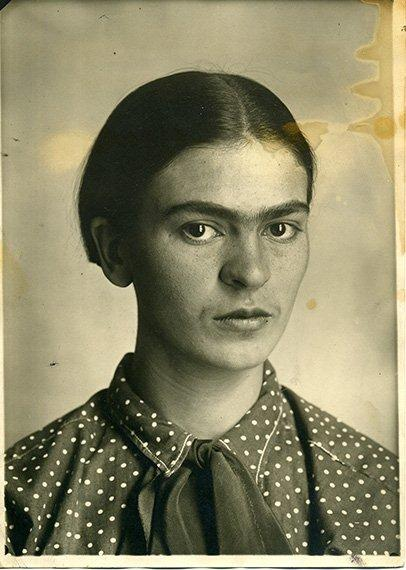 Frida Kahlo photographed by her father