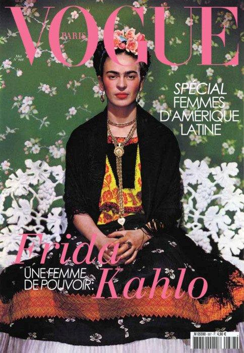Vogue cover Frida Kahlo