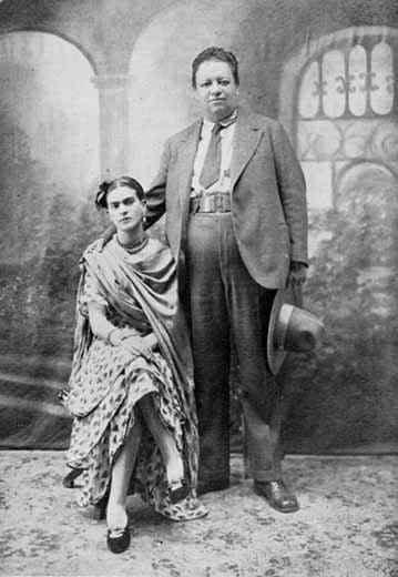 Frida & Diego weddingday 1929