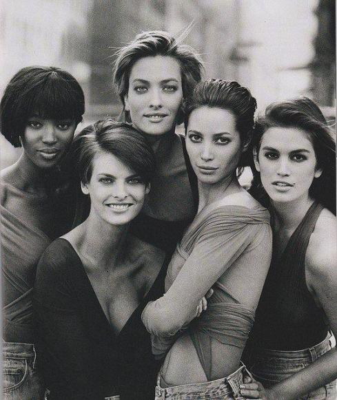 The 90ties supermodels