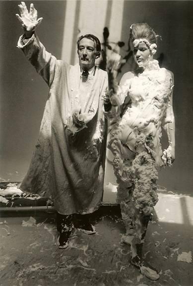 Veruschka & Dalí