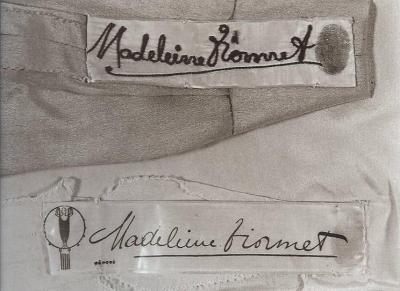 Madeleine Vionnet labels
