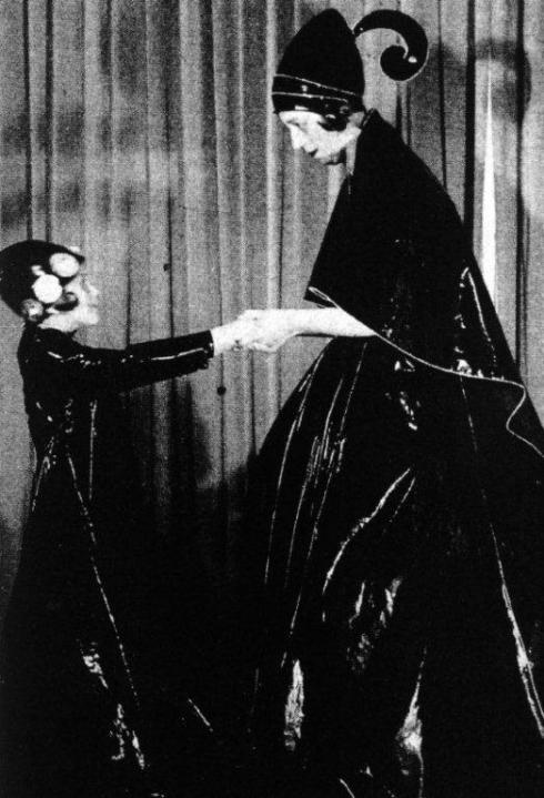Jeanne Lanvin & her daughter
