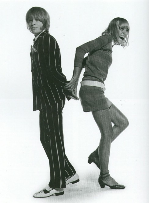 Brian Jones & Anita Pallenberg in Vogue