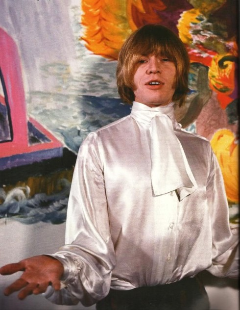 Brian Jones photographed by Gered Mankowitz