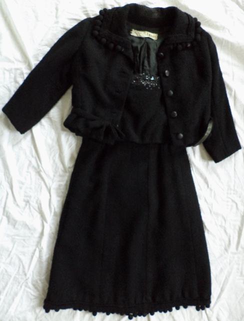 Dior dress suit