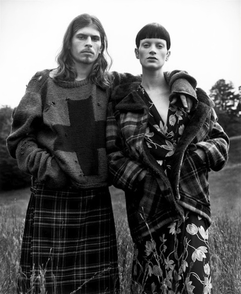 Grunge Vogue US December 1992 Steven Meisel 1