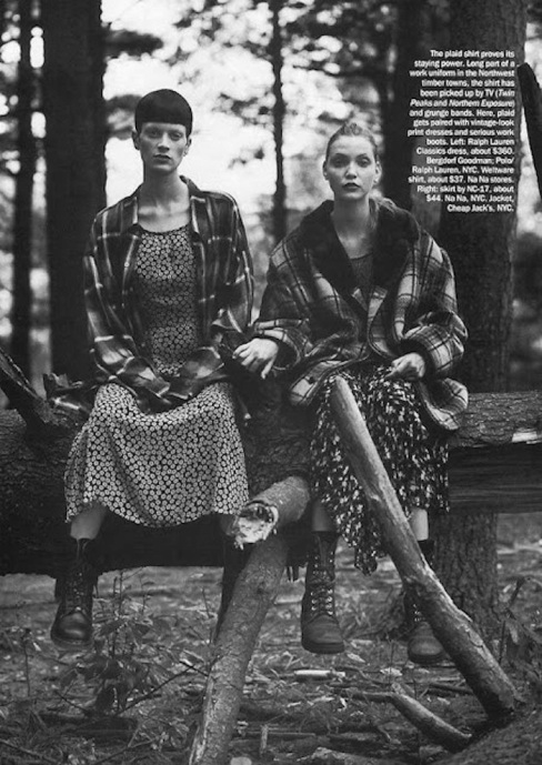 Grunge Vogue US December 1992 Steven Meisel 4