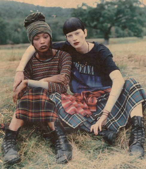 Grunge Vogue US December 1992 Steven Meisel 8