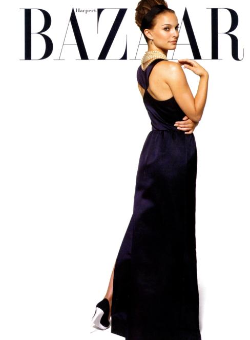 natalie portman in Harper's Bazaar