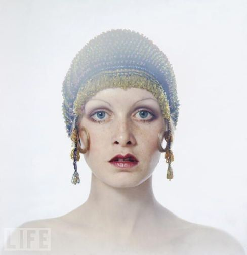 Twiggy, 1971. Picture by Justin de Villeneuve