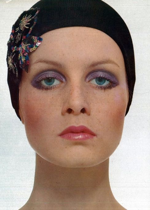Twiggy, justin, vogue italia