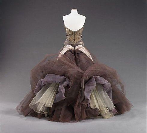 Butterfly dress, 1955