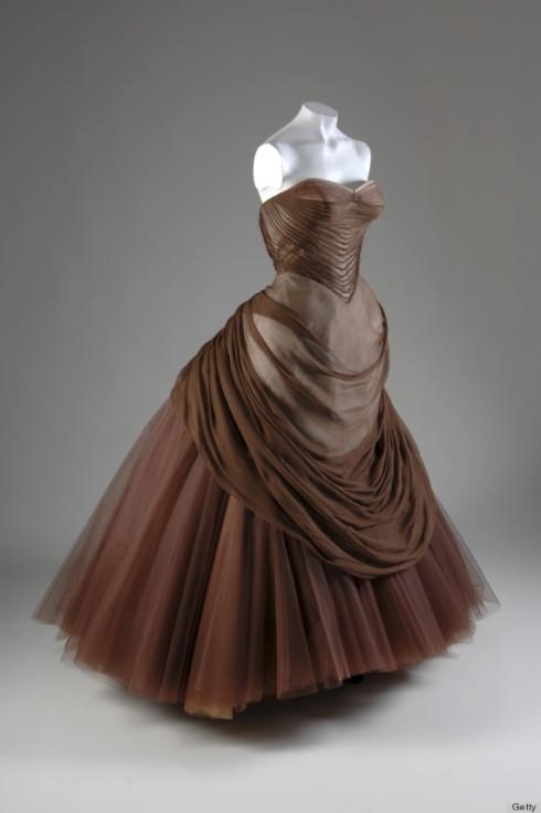 Swan Evening Dress