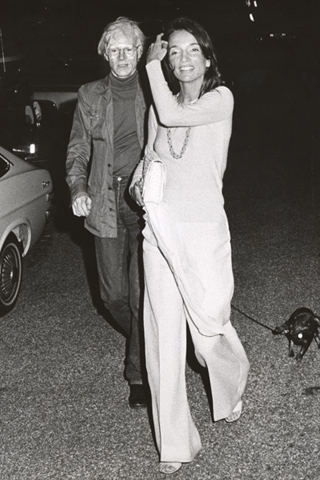 Andy Warhol & Lee Radziwiil