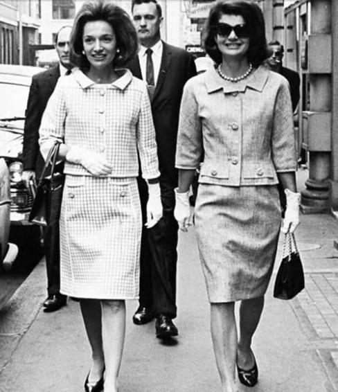 Lee Radziwill & Jackie Kennedy