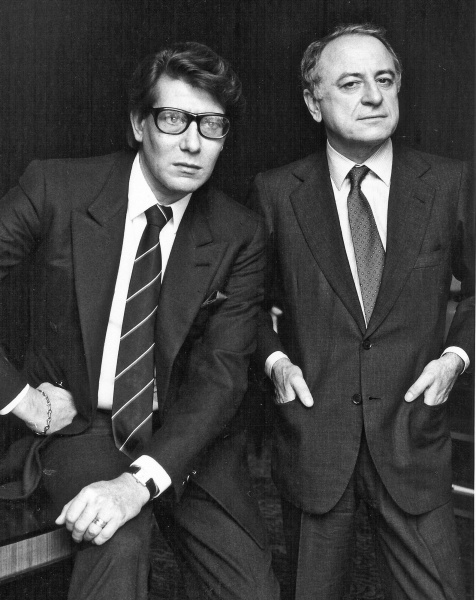 YSL & Pierre Bergé