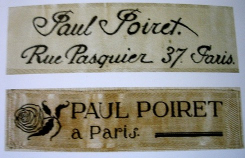 Paul Poiret Labels