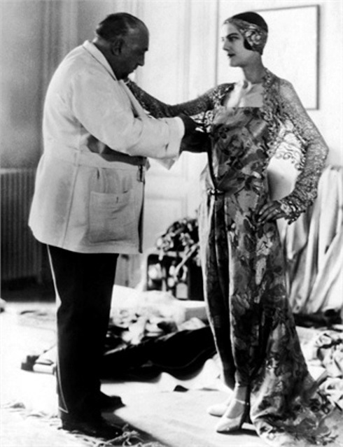 Paul &Denise Poiret at work