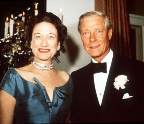 DUKE AND DUCHESS OF WINDSOR IN 1950.