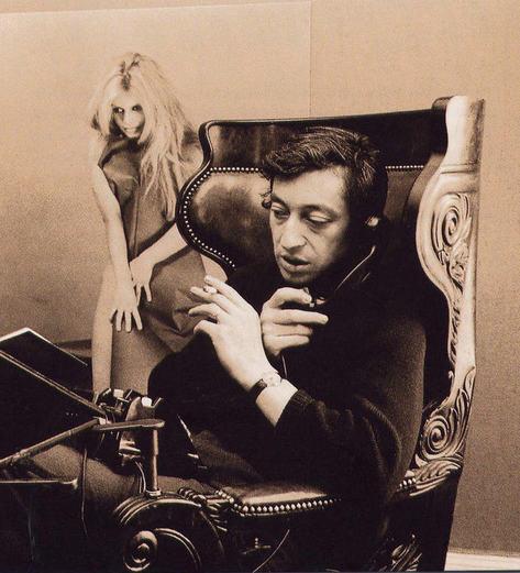 Serge+Gainsbourg++Brigitte+Bardot