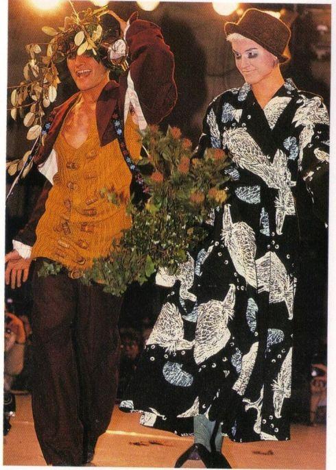 1984 85 Galliano show
